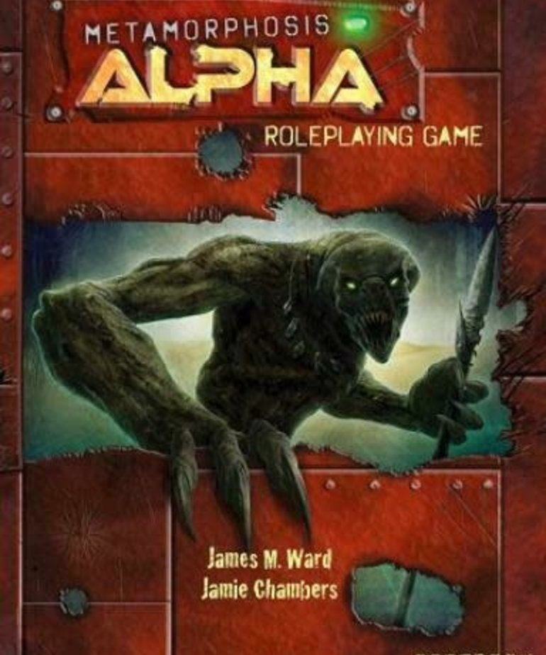 CLEARANCE Metamorphosis Alpha Roleplaying Game DOMESTIC ONLY