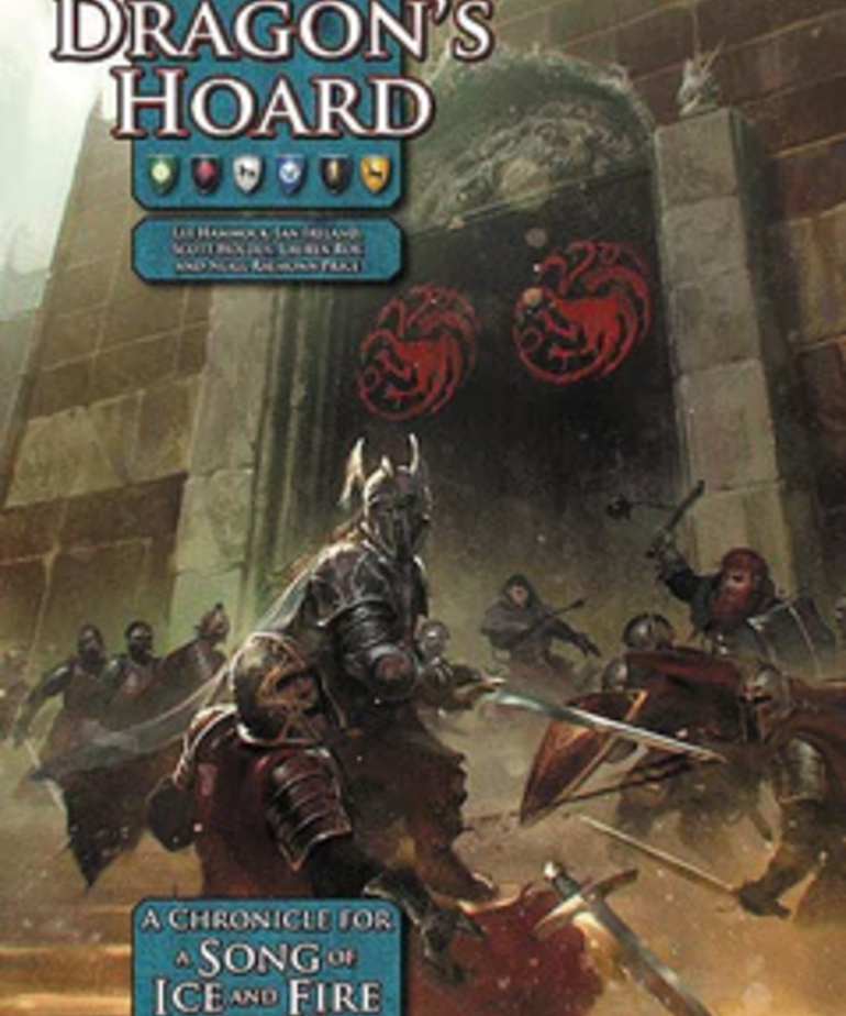 Green Ronin Publishing - GRR A Song of Ice and Fire Roleplaying: Dragon's Hoard (Domestic Orders Only)