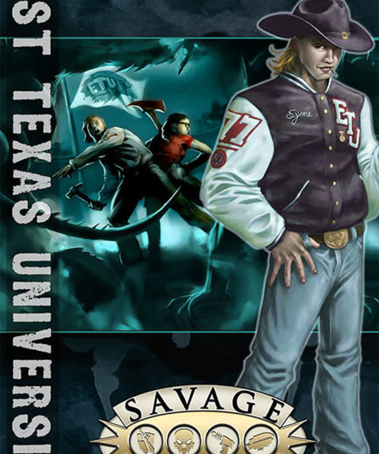 CLEARANCE Savage Worlds: East Texas University DOMESTIC ONLY