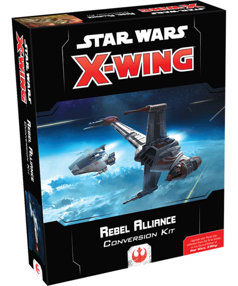 Fantasy Flight Games - FFG Star Wars: X-Wing - Rebel Alliance Conversion Kit (Second Edition)