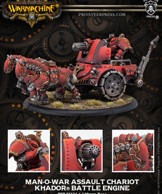 Privateer Press - PIP Warmachine - Khador - Man-O-War Siege Chariot - Battle Engine