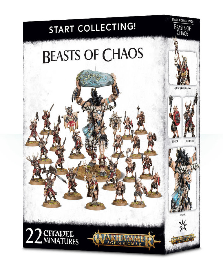 Games Workshop - GAW Warhammer Age of Sigmar - Start Collecting!: Beasts Of Chaos