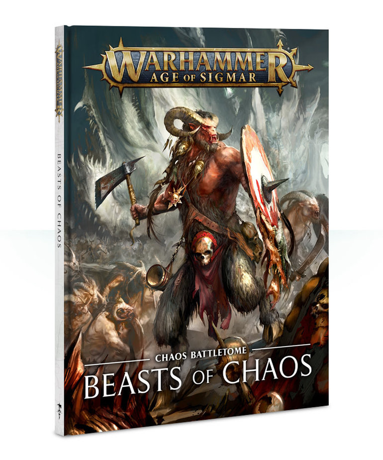 Games Workshop - GAW Warhammer Age of Sigmar - Chaos Battletome: Beasts of Chaos