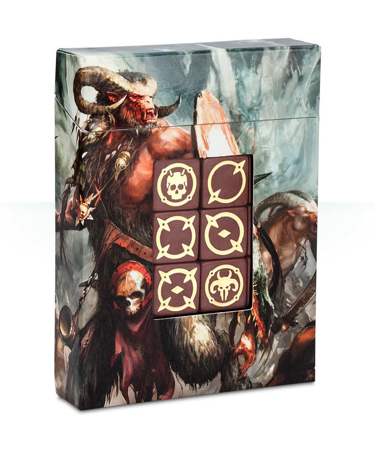 Games Workshop - GAW Warhammer Age of Sigmar - Beasts of Chaos - Dice