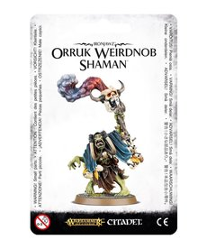 Games Workshop - GAW Warhammer Age of Sigmar - Ironjawz - Orruk Weirdnob Shaman