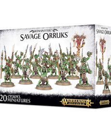 Games Workshop - GAW Warhammer Age Of Sigmar - Bonesplitterz - Savage Orruks