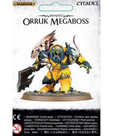 Games Workshop - GAW Warhammer Age of Sigmar - Ironjawz - Orruk Megaboss