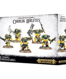 Games Workshop - GAW Warhammer Age of Sigmar - Ironjawz - Orruk Brutes