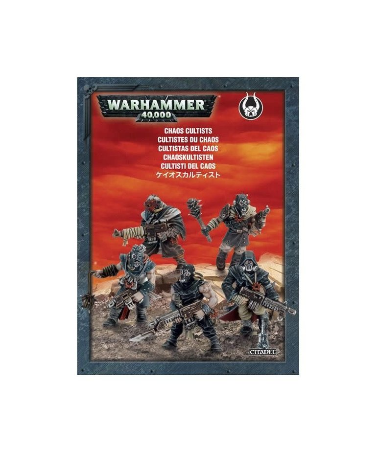 Games Workshop - GAW Warhammer 40K - Chaos - Cultists