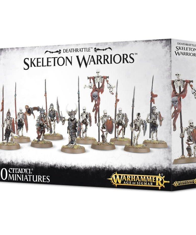 Games Workshop - GAW Warhammer Age of Sigmar - Deathrattle - Skeleton Warriors