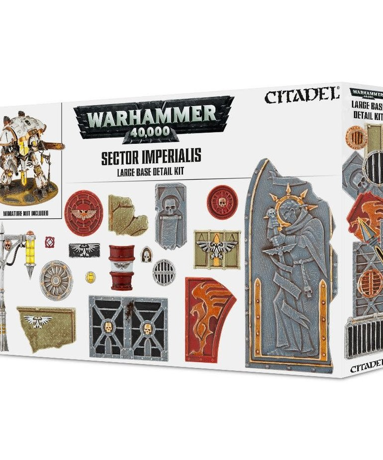 Citadel - GAW Citadel: Warhammer 40K - Sector Imperialis - Large Base Detail Kit