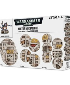 Citadel - GAW 32mm 40mm & 65mm Round Industrial Bases