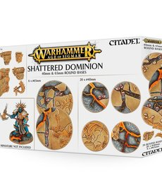 Citadel - GAW Warhammer Age of Sigmar - Shattered Dominion - 40mm & 65mm Round Bases
