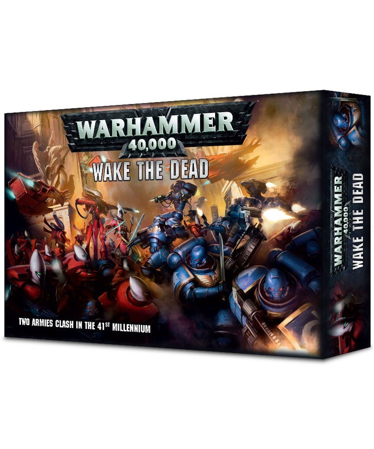 Games Workshop - GAW Warhammer 40K: Wake The Dead - Two Armies Clash in the 41st Millennium