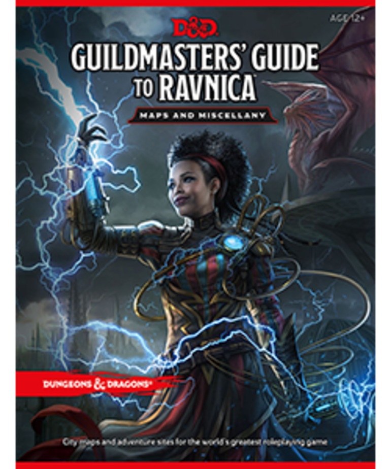 Wizards of the Coast - WOC D&D 5E: Guildmasters' Guide to Ravnica - Maps & Miscellany