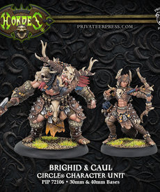 Privateer Press - PIP Hordes - Circle Orboros - Brighid & Caul - Character Unit