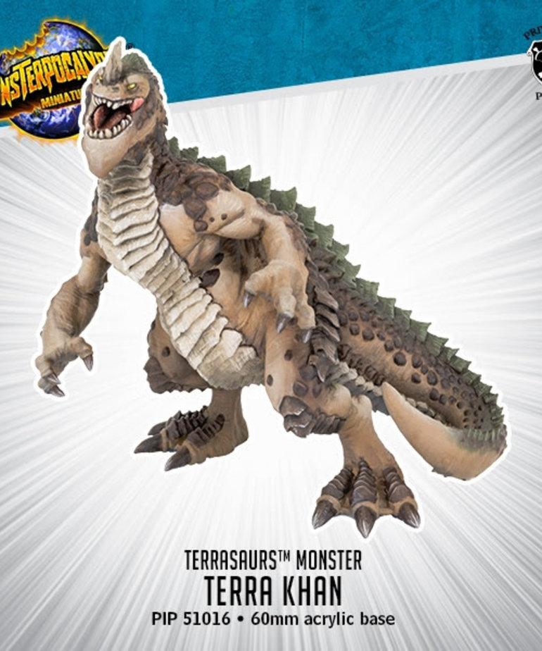 Privateer Press - PIP Monsterpocalypse - Terrasaurs - Terra Khan - Monster