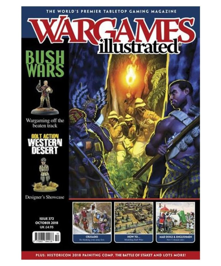 Warlord Games - WRL Wargames: Illustrated - Issue 372: October 2018