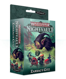 Games Workshop - GAW Warhammer Underworlds: Nightvault - Zarbag's Gitz