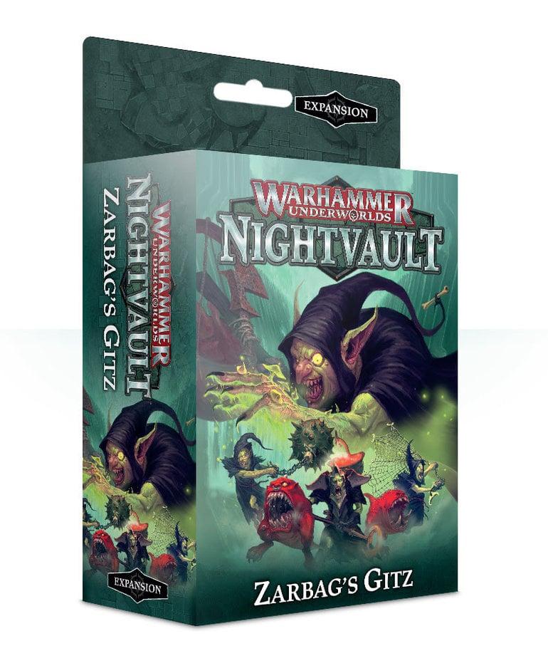 Games Workshop - GAW Warhammer Underworlds: Nightvault - Zarbag's Gitz