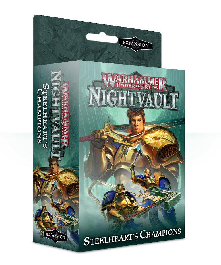 Games Workshop - GAW Warhammer Underworlds: Nightvault - Steelheart's Champions