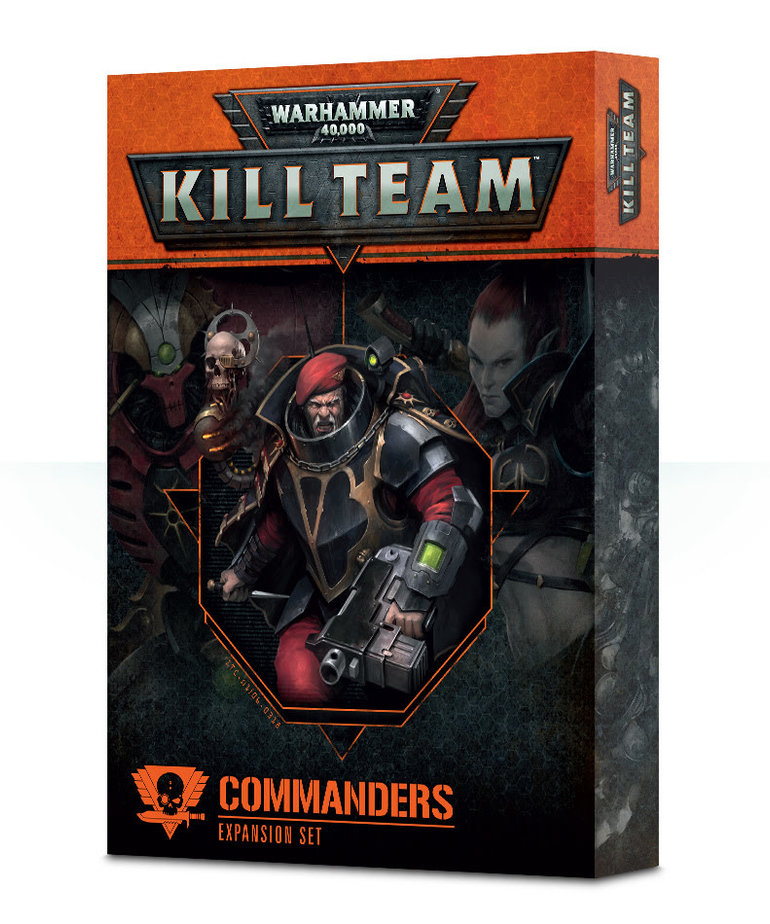Games Workshop - GAW Warhammer 40k: Kill Team - Commanders - Expansion Set