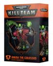 Games Workshop - GAW Warhammer 40k: Kill Team - Ankra the Colossus - Necrons Commander Set