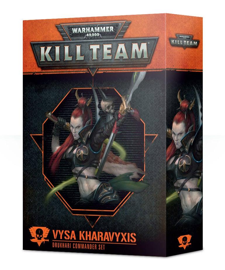 Games Workshop - GAW Warhammer 40k: Kill Team - Vysa Kharavyxis - Drukhari Commander Set