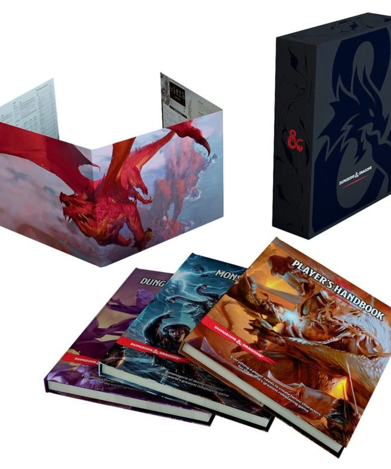 Wizards of the Coast - WOC D&D 5th: Core Rulebook Gift Set