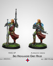 Corvus Belli - CVB Infinity: Ariadna - 3rd Highlander Grey Rifles