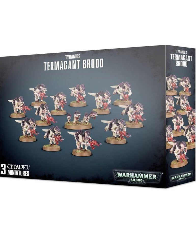 Games Workshop - GAW Warhammer 40K - Tyranids - Termagant Brood