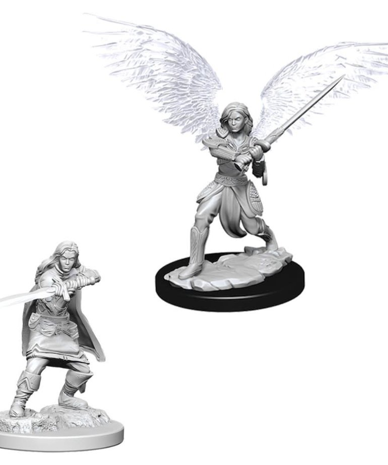 WizKids - WZK D&D: Nolzur's Marvelous Minatures - Female Aasimar Fighter