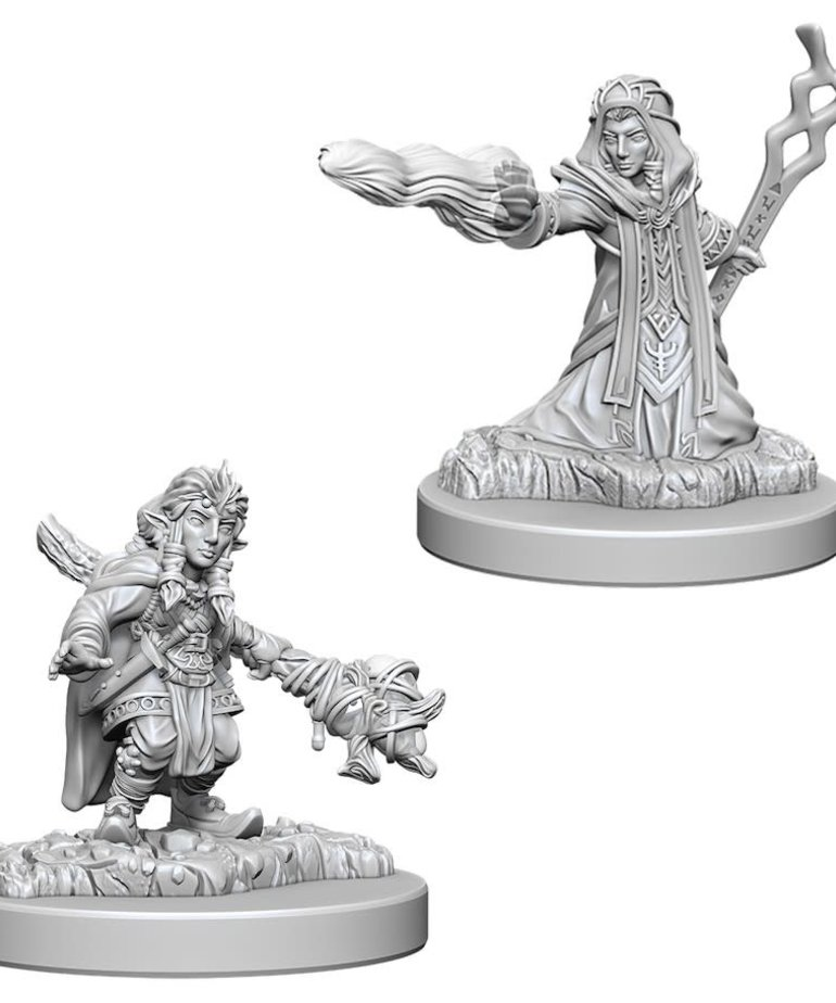WizKids - WZK D&D: Nolzur's Marvelous Minatures - Female Gnome Wizard