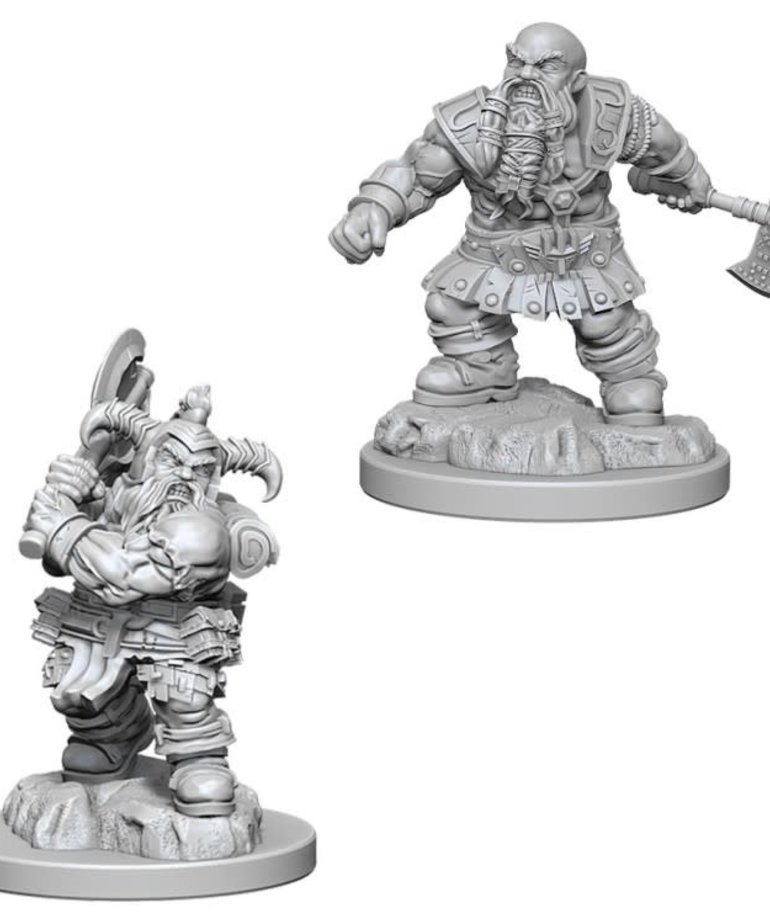 WizKids - WZK D&D: Nolzur's Marvelous Minatures - Male Dwarf Barbarian
