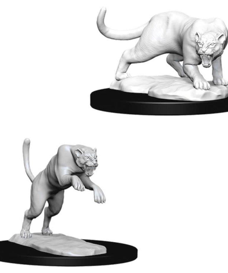 WizKids - WZK D&D: Nolzur's Marvelous Minatures - Panther & Leopard