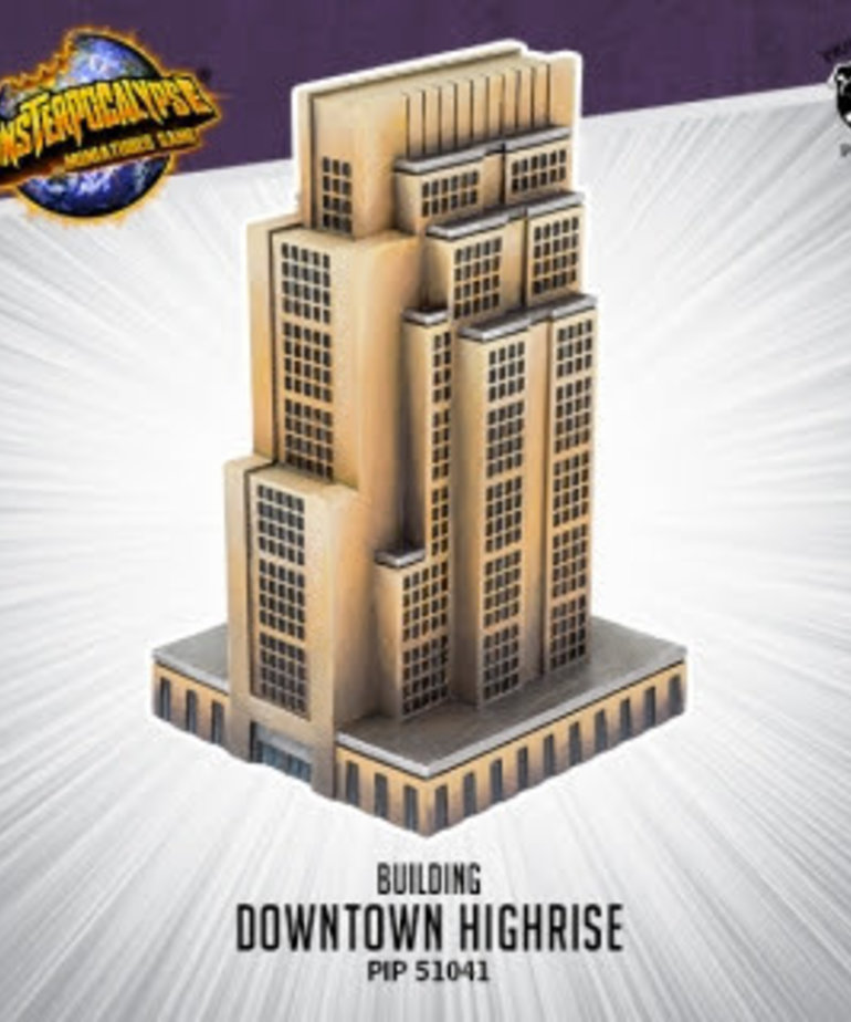 Privateer Press - PIP Monsterpocalypse - Buildings - Downtown Highrise