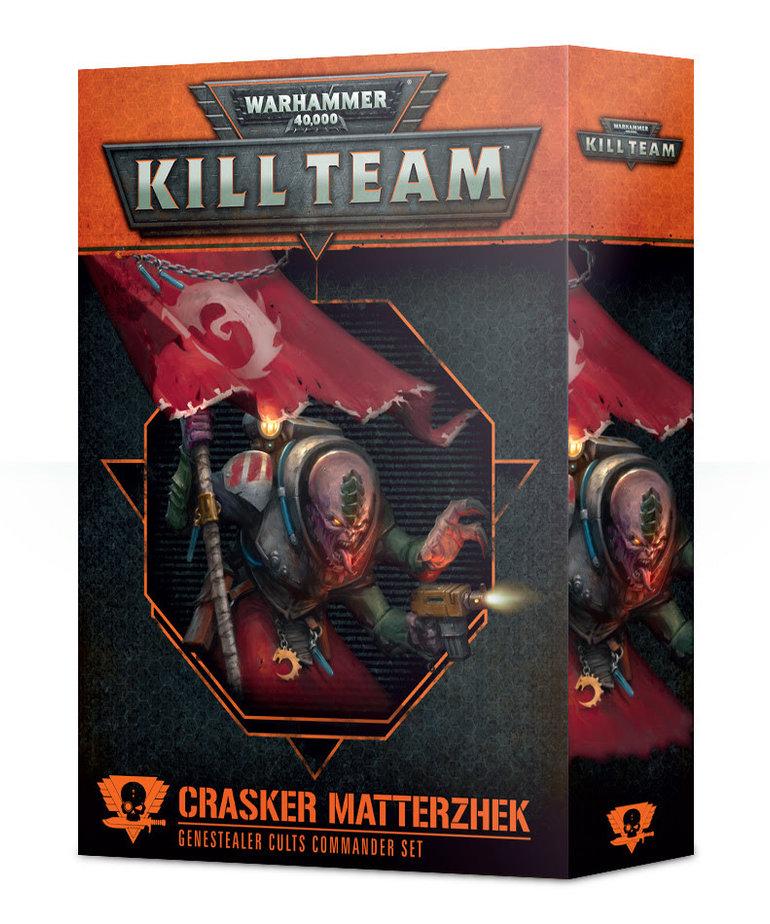 Games Workshop - GAW Warhammer 40k: Kill Team - Crasker Matterzhek - Genestealer Cults Commander Set