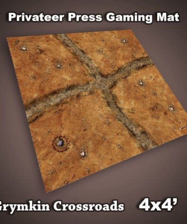 Frontline Gaming Frontline Gaming: 4x4 F.A.T. Mat - Grymkin Crossroads