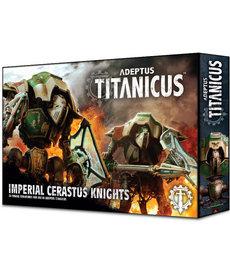 Games Workshop - GAW Adeptus Titanicus - Knights - Imperial Cerastus Knights