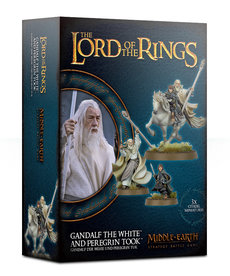 Games Workshop - GAW Gandalf the White and Peregrin Took