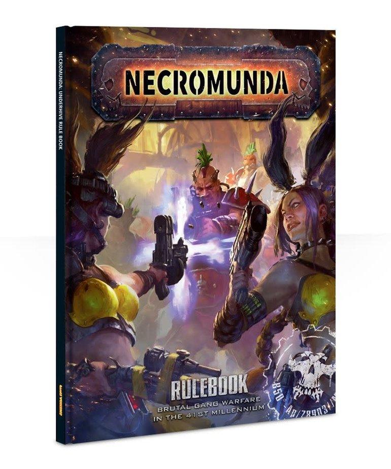 Games Workshop - GAW Necromunda: Underhive - Rule Book