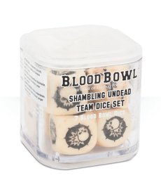 Games Workshop - GAW Blood Bowl - Shambling Undead Dice Set