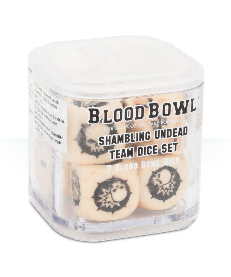 Games Workshop - GAW Blood Bowl - Shambling Undead Team - Dice Set
