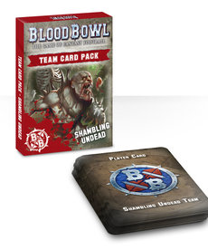 Games Workshop - GAW Blood Bowl - Shambling Undead - Team Card Pack