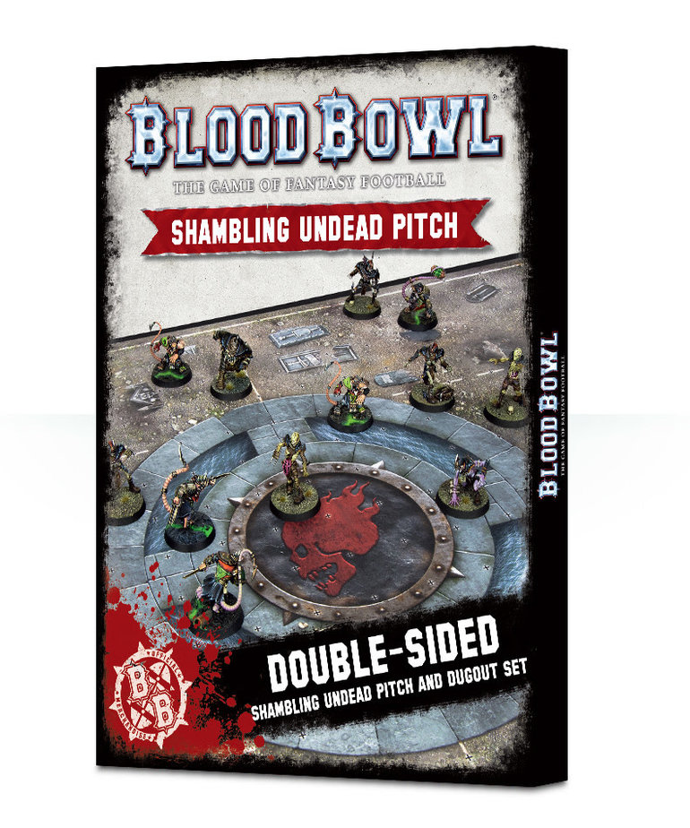 Games Workshop - GAW Blood Bowl - Shambling Undead Pitch