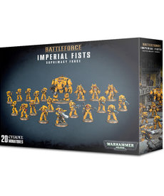 Games Workshop - GAW Warhammer 40K - Battleforce - Imperial Fists: Supremacy Force