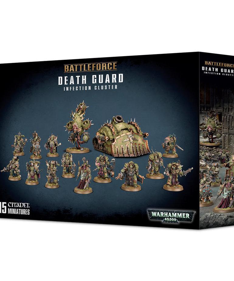 Games Workshop - GAW Warhammer 40K - Battleforce - Death Guard: Infection Cluster