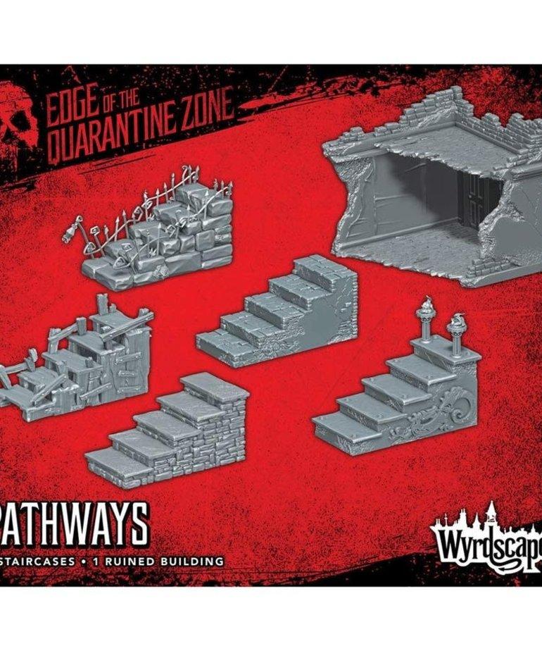 Wyrd Miniatures - WYR Wyrdscapes: Edge of the Quarantine Zone - Pathways