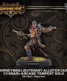 Privateer Press - PIP Journeyman Lieutenant Allister Caine (Caine 0)