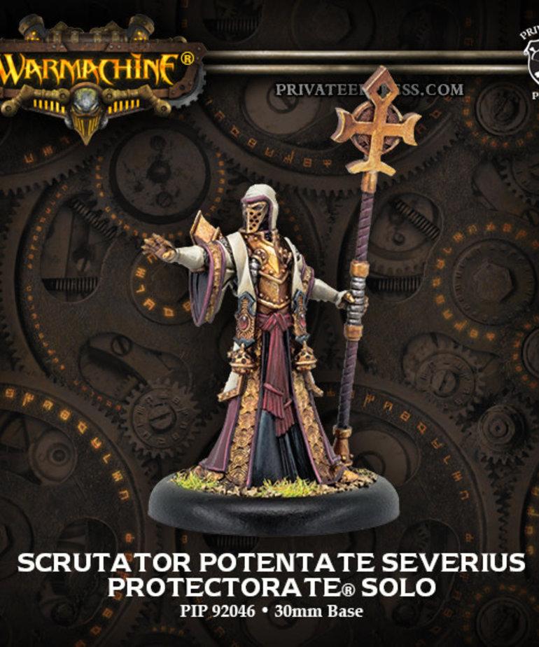Privateer Press - PIP Warmachine - Protectorate of Menoth - Scrutator Potentate Severius - Solo